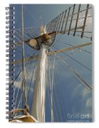The Mainmast Of The Amazing Grace Spiral Notebook