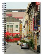 The Majestic Theater Chinatown Singapore Spiral Notebook