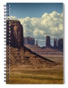 The Majesty Of Monument Valley  Spiral Notebook