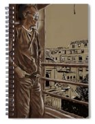 The Man Who Loved Paris Spiral Notebook
