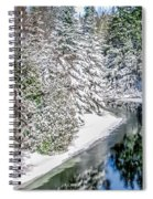 The Manistee River  Spiral Notebook