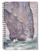 The Manneporte Seen From Below Spiral Notebook