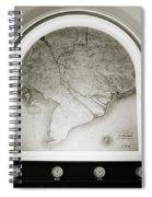 The Map Spiral Notebook