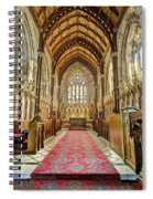 The Marble Church Interior Spiral Notebook