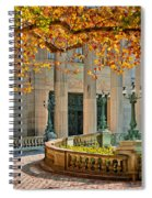 The Marble House In Autumn Spiral Notebook