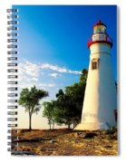 The Marblehead Light Spiral Notebook