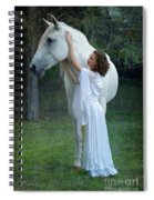 The Mare And The Maiden Spiral Notebook