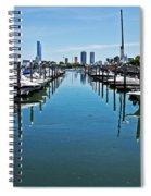 The Marina At The Golden Nugget Spiral Notebook