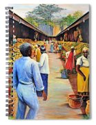 The Market Place Spiral Notebook