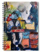 The Marketplace Spiral Notebook