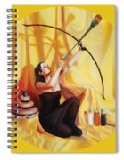 The Markswoman Spiral Notebook