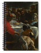The Marriage At Cana Spiral Notebook