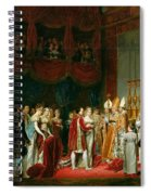 The Marriage Of Napoleon I 1769-1821 And Marie Louise 1791-1847 Archduchess Of Austria, 2nd April Spiral Notebook