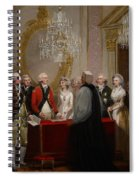 The Marriage Of The Duke And Duchess Of York Spiral Notebook