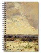 The Marsh In The Souterraine, 1842 Spiral Notebook