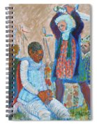 The Martydom Of St Maurice Spiral Notebook