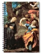The Martyrdom Of Four Saints Spiral Notebook