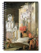 The Martyrdom Of St. Catherine, 17th Spiral Notebook