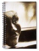 The Mask Sketch Spiral Notebook