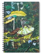 The Masquerade Dance Spiral Notebook