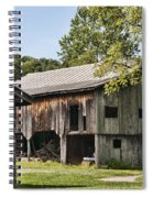 The Mathias Homestead Built In 1797 At Mathias West Virginia Spiral Notebook