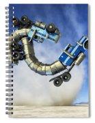 The Mating Dance Spiral Notebook