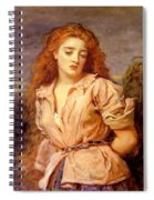 The Matyr Of The Solway Spiral Notebook