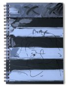 The Max Face In Cyan Spiral Notebook