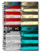 The Max Face In Quad Colors Spiral Notebook