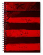 The Max Face In Red Spiral Notebook