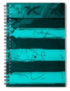The Max Face In Turquois Spiral Notebook