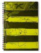 The Max Face In Yellow Spiral Notebook