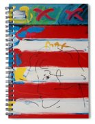 The Max Face  Spiral Notebook