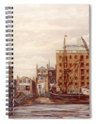 The Mayfloer Pub Rotherhithe London Spiral Notebook