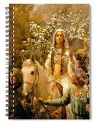 The Maying Of Queen Guinevere Spiral Notebook