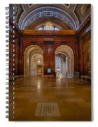 The Mcgraw Rotunda At The New York Public Library Spiral Notebook