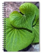 The Measure Of Love Spiral Notebook