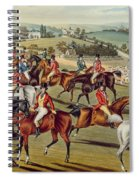 'the Meet' Plate I From 'fox Hunting' Spiral Notebook