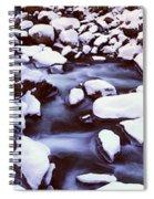 The Merced River In Winter, Yosemite Spiral Notebook