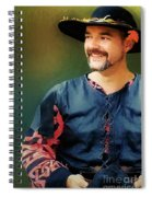 The Merry Rustic Spiral Notebook