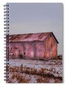 The Metal Barn Spiral Notebook