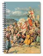 The Mighty King Of Chivalry Richard The Lionheart Spiral Notebook