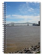 The Mighty Mississippi Spiral Notebook
