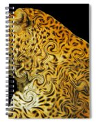 The Mighty Panthera Pardus Spiral Notebook