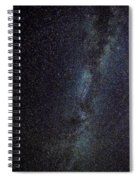 The Milky Way Galaxy  Spiral Notebook