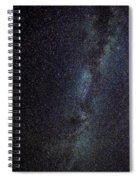 The Milky Way Galaxy  Spiral Notebook