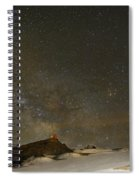 the Milky Way Sagittarius and Antares over the Sierra Nevada National Park Spiral Notebook
