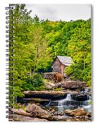 The  Mill At Babcock Spiral Notebook