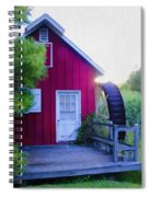 The Mill At Kimberton Spiral Notebook