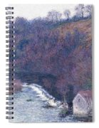 The Mill At Vervy Spiral Notebook